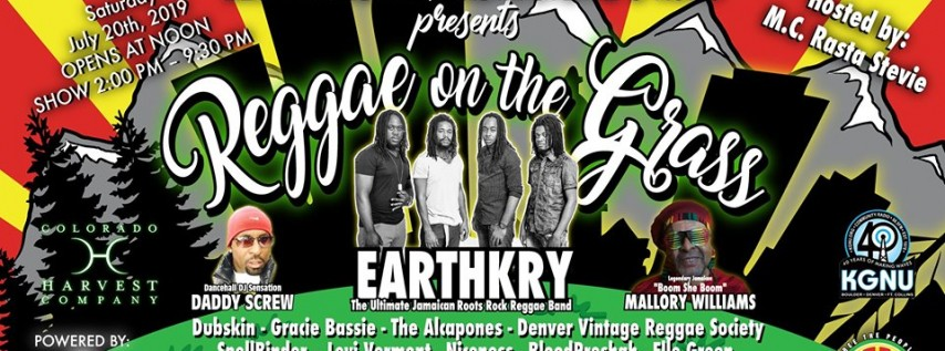 The 2nd Annual Reggae On The Grass Free The People With Music