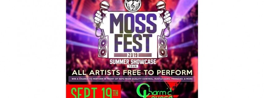 MOSSFEST 2019 SHOWCASE TOUR