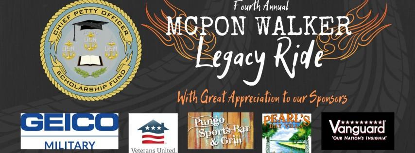 4th Annual MCPON Walker Legacy Ride