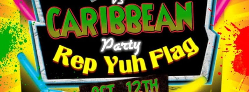 Rep Yuh Flag Caribbean Party
