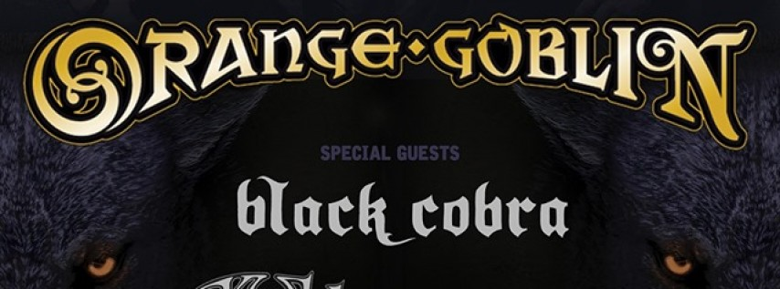 Orange Goblin, Black Cobra, The Skull and more in Austin!