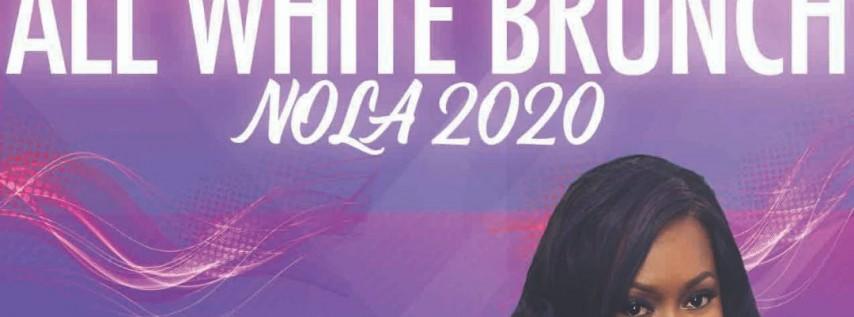 SUNDAY Glambitious All White Brunch (Essence Festival 2020)