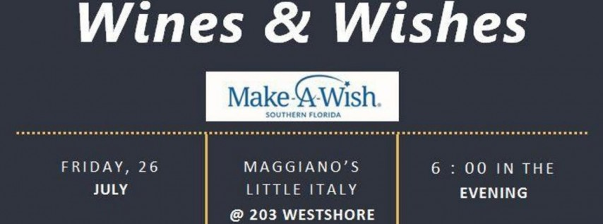2nd Annual Wines & Wishes