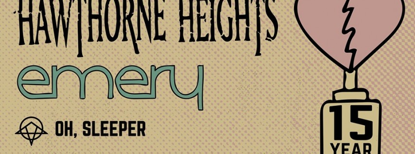 Hawthorne Heights (15 Year Anniversary) at Empire 8/26