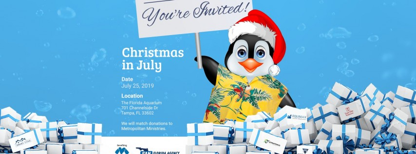 Christmas in July | Client Appreciation Event