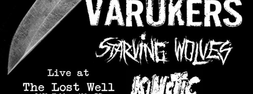 Day 3: Varukers, Starving Wolves, Kinetic Discord, Blood Letters