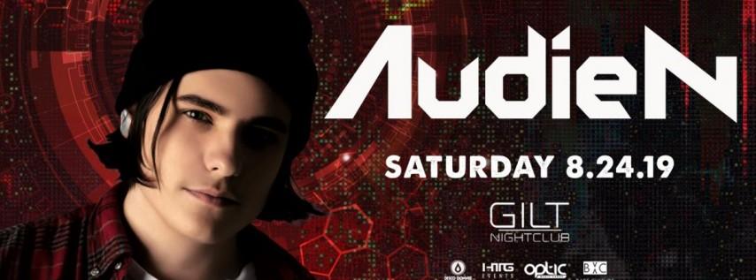 Audien at Gilt Nightclub