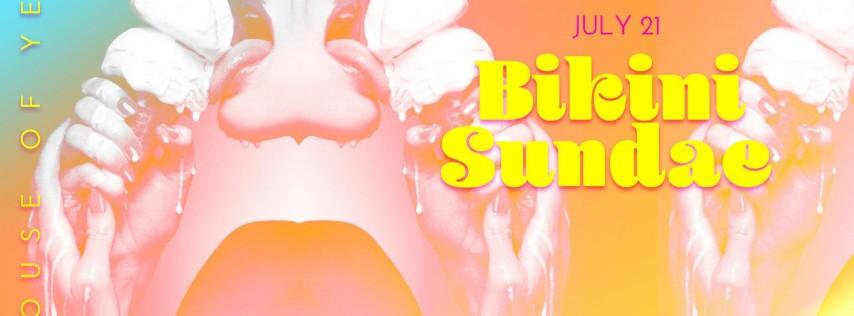 Bikini Sundae Pool Party