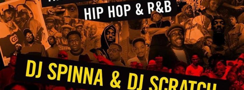 Flavors - 80's, 90's, 00's Party w/ DJ Spinna & DJ Scratch