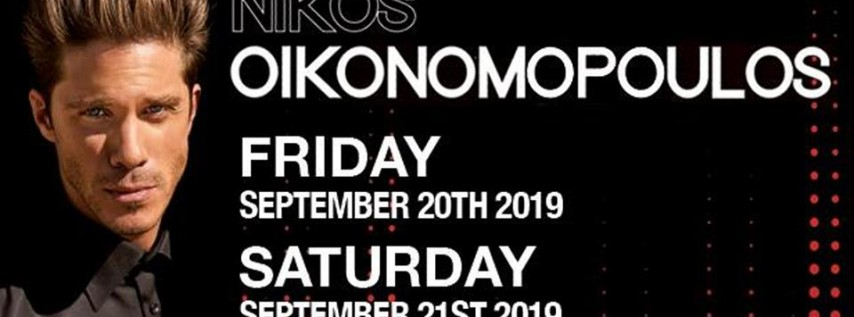Nikos Oikonomopoulos Live @ Melrose Ballroom 9/21