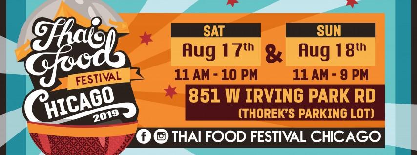 Thai Food Festival Chicago 2019