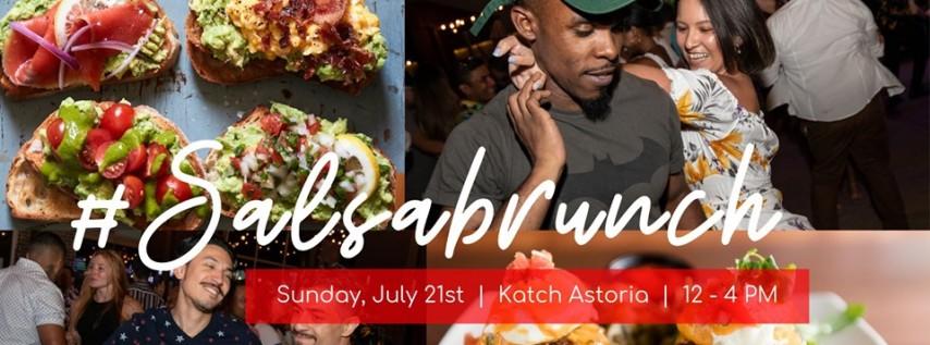 #Salsabrunch at Katch Astoria