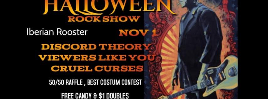Halloween Rock Show:Discord Theory/Viewers Like You/Cruel Curses