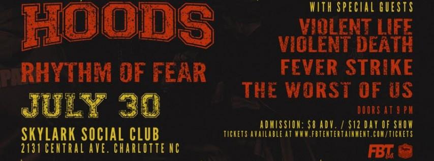 HOODS, Rhythm of Fear At Skylark Social Club