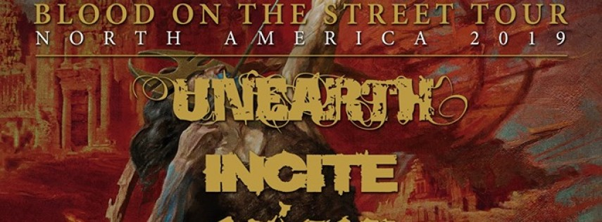 Soulfly with Unearth, Evergrey, Incite, Shattered Sun and more!