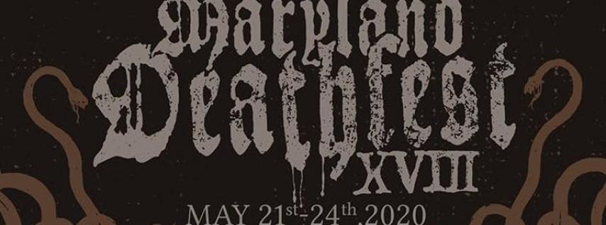 Maryland Deathfest 2020