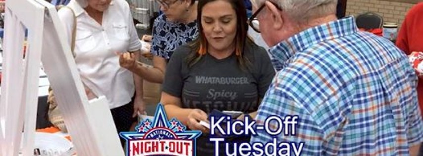 National Night Out Kick Off Party 2019