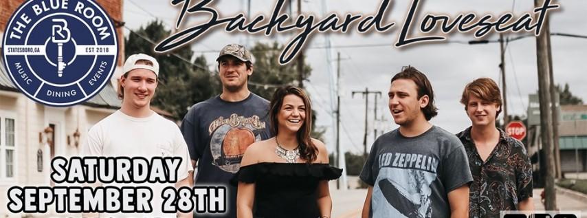 Backyard Loveseat | The Blue Room (Statesboro, GA)