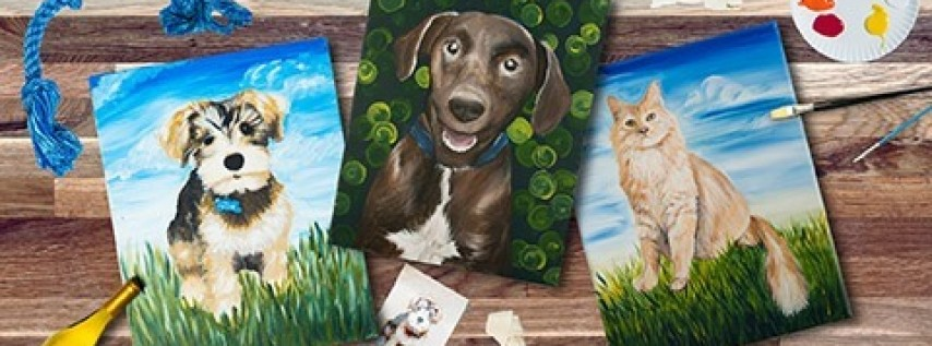 Dog Scout Paint your Pet Fundraiser
