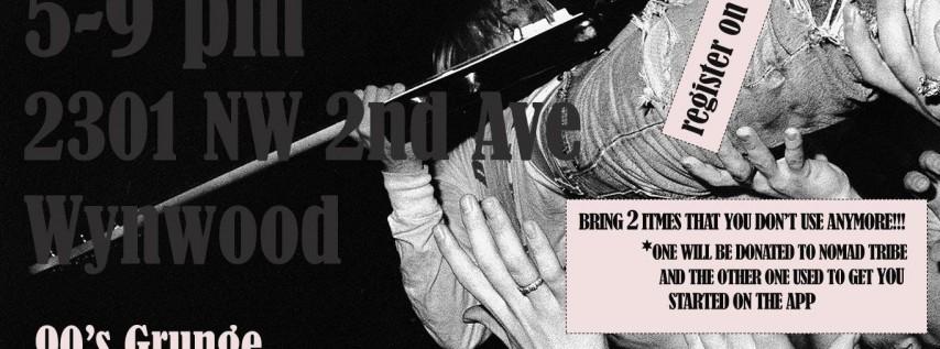 90s Grunge Trndhaüs PopUp x Nomad Tribe *Kurt Cobain*