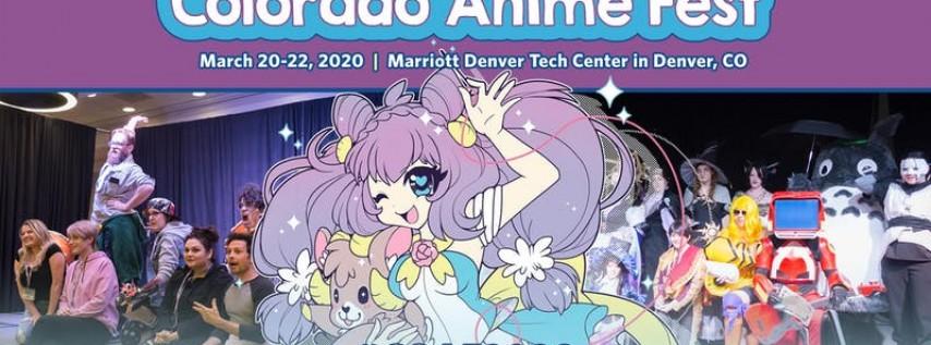 Colorado Anime Fest 2020