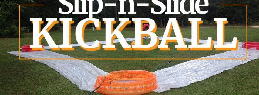Slip-n-Slide Kickball