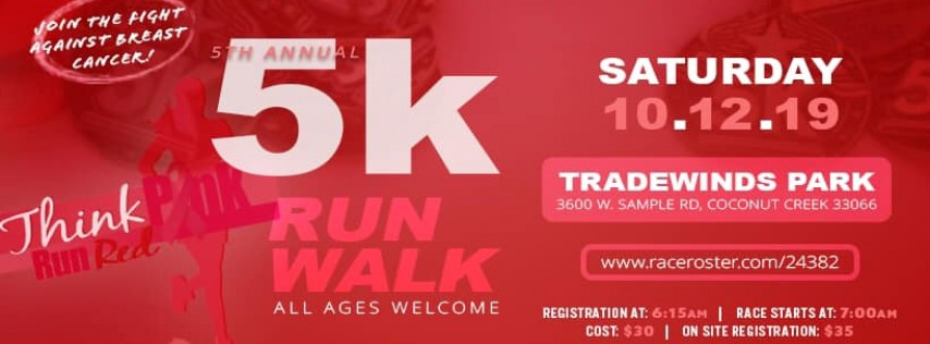 NBCAC's 5th Annual Think Pink Run Red