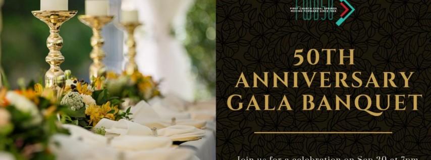 50th Anniversary Gala Banquet