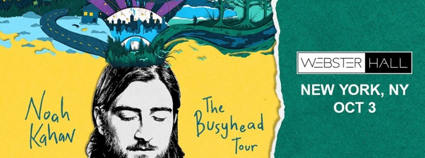 Noah Kahan - Busyhead Tour w/ JP Saxe