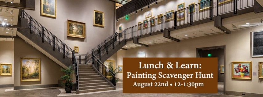 Lunch and Learn: Painting Scavenger Hunt