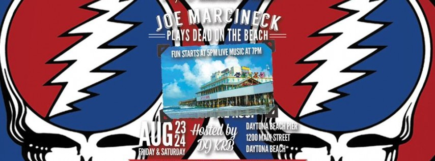Joe Marcineck Band 'Plays Dead at The Beach'