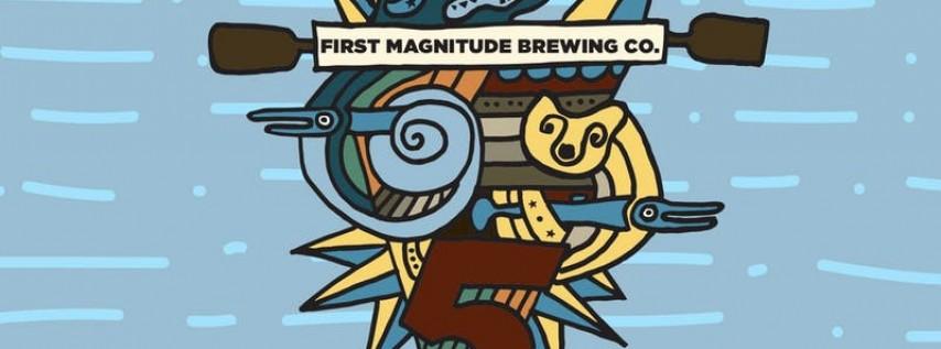 First Magnitude Five Year Anniversary VIP