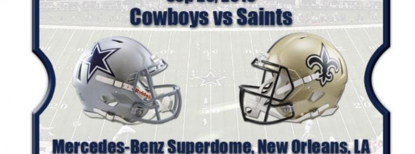 Cowboys vs who ain't New Orleans Saints