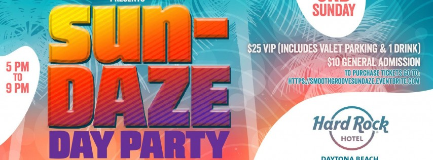 Smooth Groove Presents Sun-DAZE