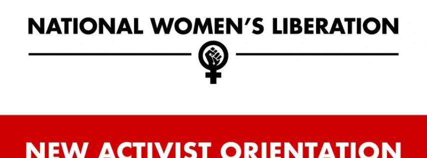 NWL New Activist Orientation