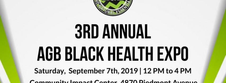 3rd Annual Black Health Expo