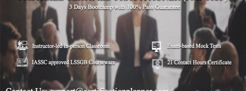 PMI Agile Certified Practitioner (PMI-ACP) 3 Days Classroom in Charleston