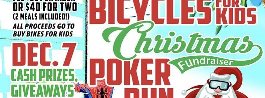 Bicycles for Kids Poker Run at Main Street Station