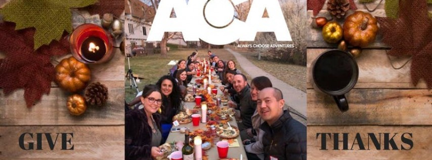 Thanksgiving with Always Choose Adventures