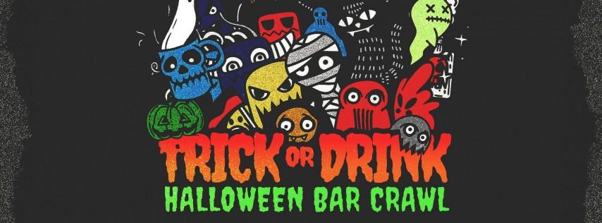 Trick or Drink: Charleston Halloween Bar Crawl (2 Days)