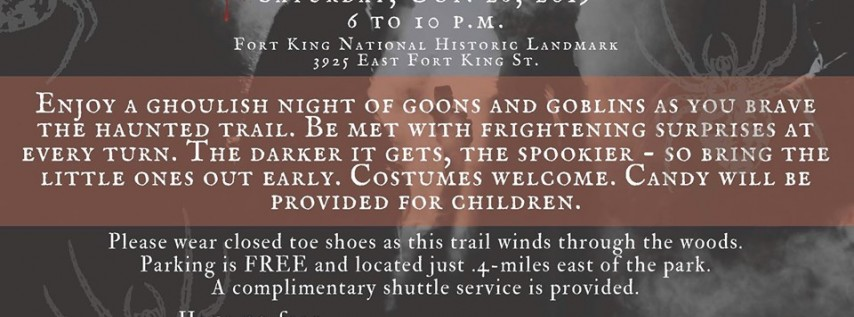 Fort King Haunted Trail 2019