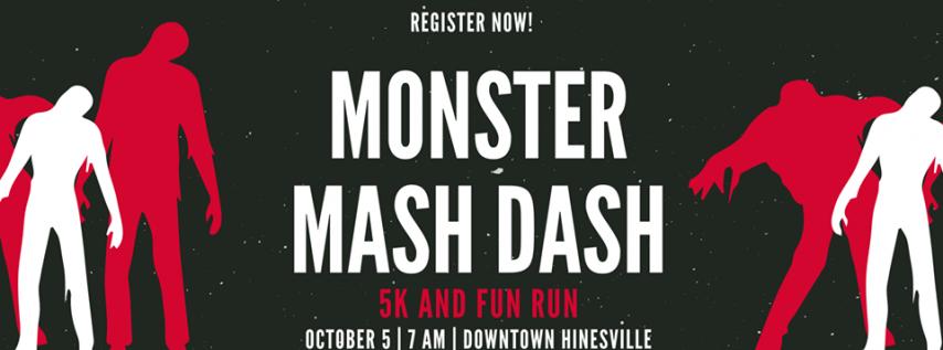 Monster Mash Dash 5K and Fun Run
