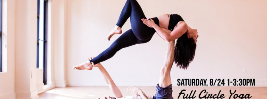 Acro Yoga 101 @ Full Circle Yoga