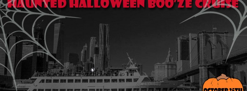 Haunted Halloween Boo'ze Cruise
