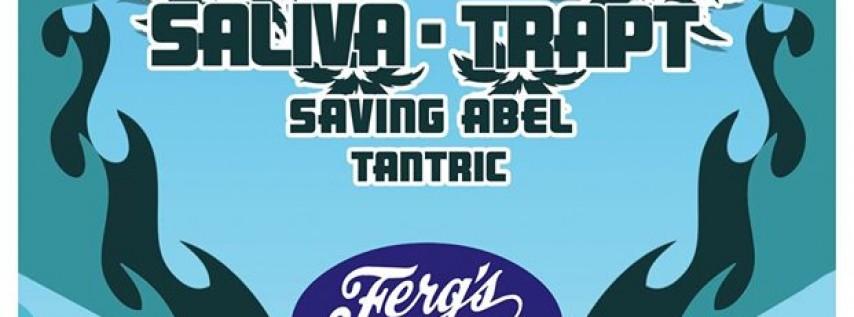 Puddle Of Mudd, Saliva, Trapt, Saving Abel, Tantric at Ferg's Sports Bar & Grill