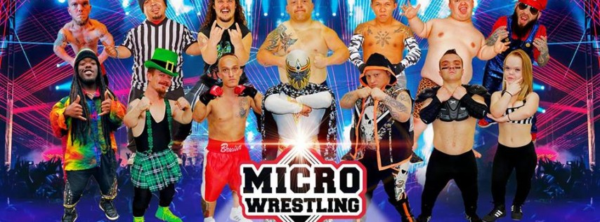21 & Up Micro Wrestling at Dan Painters Tiny Town!