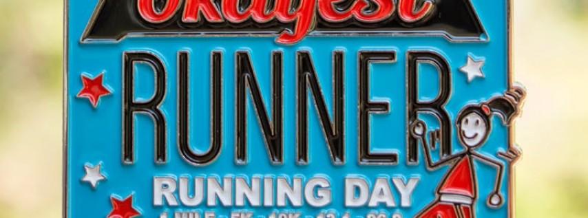 2019 The Running Day 1 M, 5K, 10K, 13.1, 26.2 - Charleston