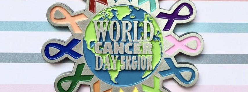 Now Only $15! World Cancer Day 5K & 10K -Charleston