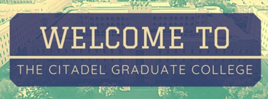 The Citadel Graduate College: New Student Orientation
