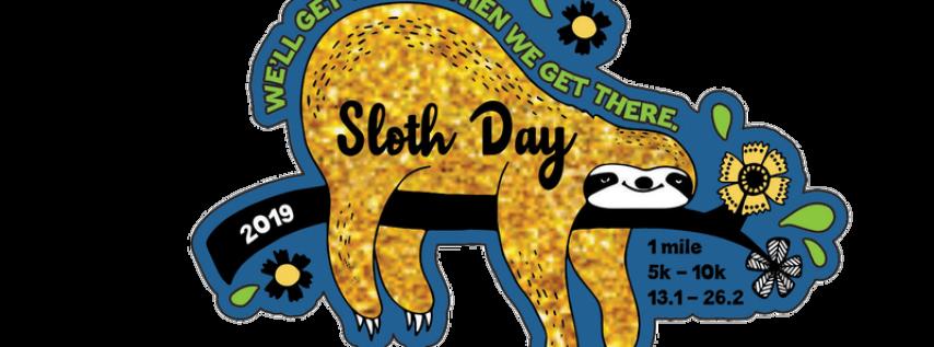 2019 Sloth Day 1 Mile, 5K, 10K, 13.1, 26.2 - Charleston